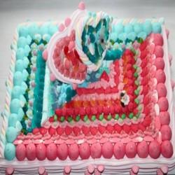 """Gâteau de bonbons Mariage """"Nous deux"""""""