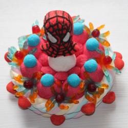 Gâteau de bonbons Spiderman N° 1