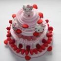 Pièce montée en bonbons Hello Kitty