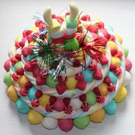 Pièce montée en bonbons Festival