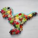 Dinosaure en bonbons