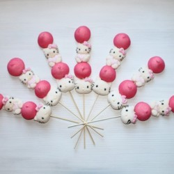 Brochette de bonbons Hello Kitty