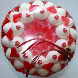 Bouquet de mariée en bonbons