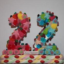 Nombres en bonbons