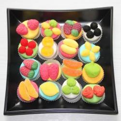 Plateau tartelette en bonbons x 16