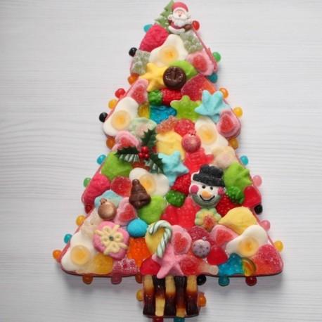 Sapin de no l en bonbons caramelys lyon - Modele de sapin ...