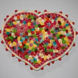 """Coeur en bonbons mariage """" Sublime """""""