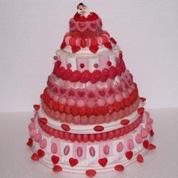 Pièce montée en bonbons mariage Angélique