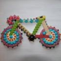 Vélo de course en bonbons