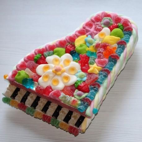 Piano en bonbons