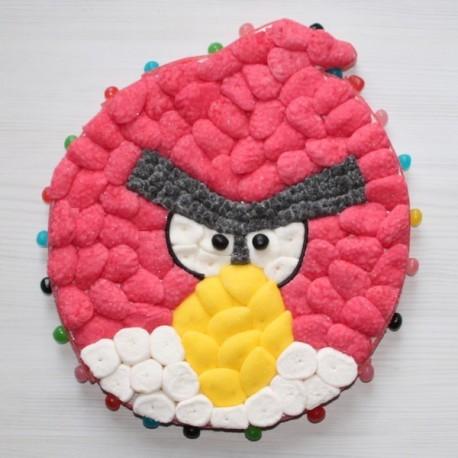 Personnage du jeu Angry Birds en bonbons