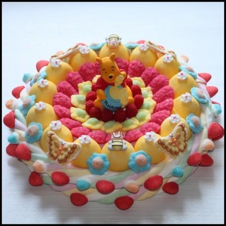 Gâteau de bonbons Winnie l'ourson