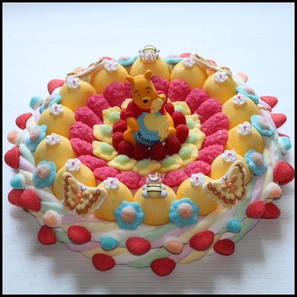 Gâteau de bonbons Winnie l\u0027ourson