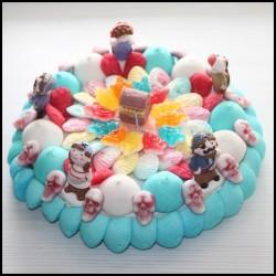 Gâteau de bonbons Pirates des caraïbes