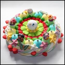"""Gâteau de bonbons """" Tour du monde """""""