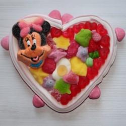 Coeur en bonbons personnage Minnie