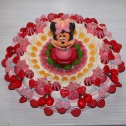 Gâteau de bonbons géant Minnie