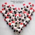 Brochette de bonbons Saint Valentin