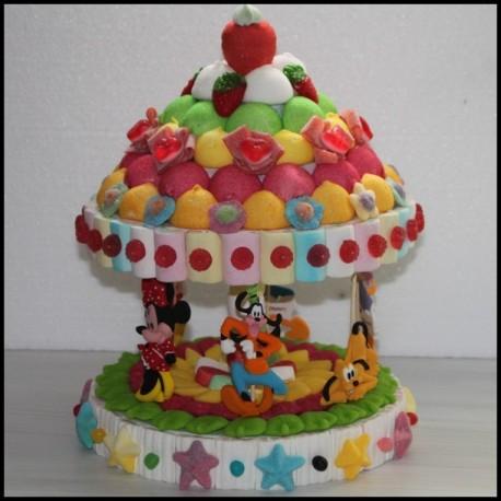 Manège en bonbons personnages Disney