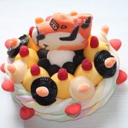 Gâteau en bonbons Planes
