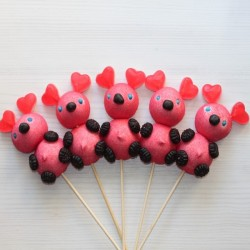 Brochette de bonbons ourson