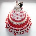 """Pièce montée de mariage en bonbons """" Mariage pour tous """""""