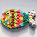 Poisson coquillages en bonbons