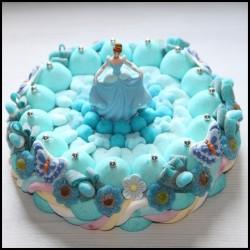 Gâteau de bonbons Princesse Cendrillon