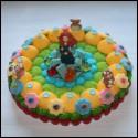 Gâteau en bonbons Rebelle