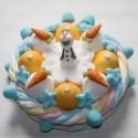 Gâteau en bonbons Olaf du film La Reine des Neiges