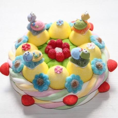 Gâteau de bonbons tortue
