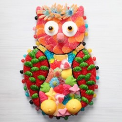 Chouette en bonbons