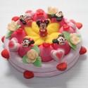 Gâteau Minnie en bonbons