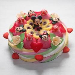 Gâteau Mickey en bonbons