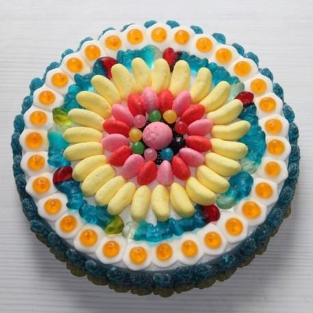 Gâteau de bonbons Haribo pour anniversaire
