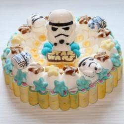 Gâteau de bonbons Star Wars