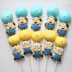 Brochette de bonbons Minions
