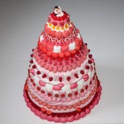 Pièce montée de mariage originale en bonbons Sublime