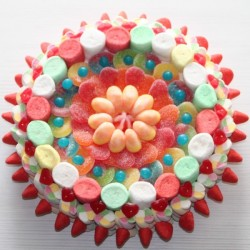 Gâteau de bonbons Chamallows et Marshmallows