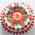 Gâteau de bonbons Chamallows et Marshmallows