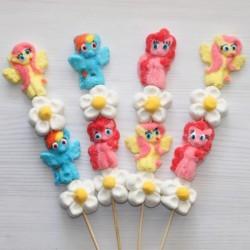 Brochette de bonbons Pony