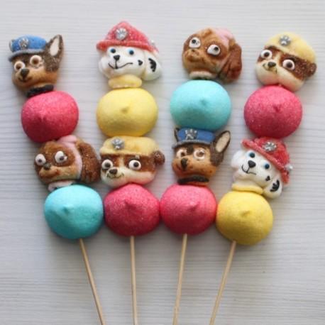 Brochette de bonbons Pat Patrouille