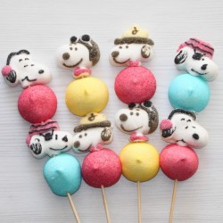 Brochette de bonbons Snoopy