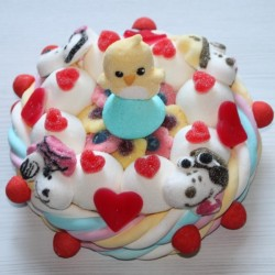 Gâteau de bonbons Snoopy