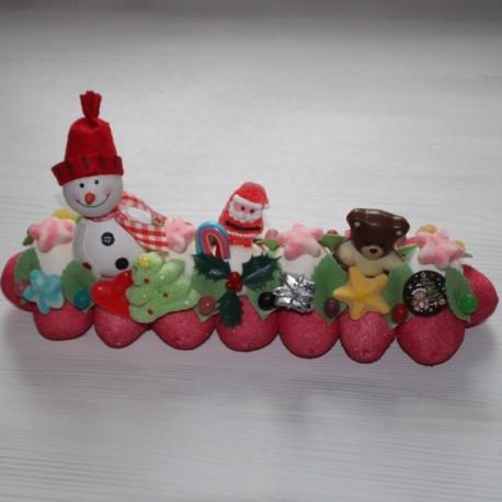 """Bûche de Noël en bonbons """" Sublime """""""
