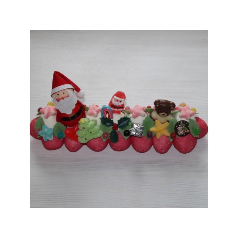 buche de noel 2018 lyon Bûche de Noël en bonbons