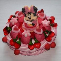 Gâteau de bonbons Minnie