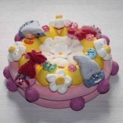Gâteau en bonbons Trolls