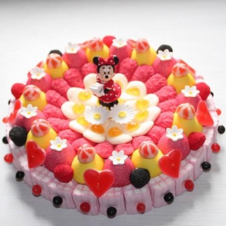Gâteau de bonbons Minnie Caramelys Lyon