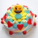 Gâteau en bonbons Smiley